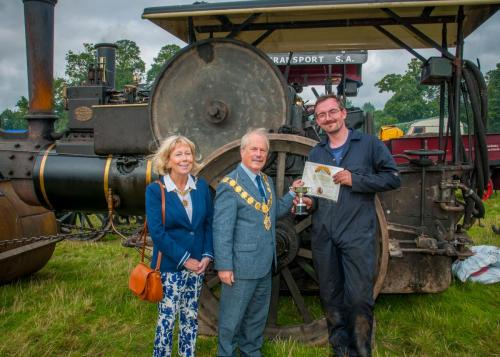 Award: Most Original Steam ExhibitOwner: Ian CooperExhibit: Aveling & Porter Steam Roller