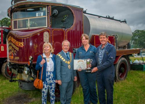 Award: Best Steam WagonOwner: David & Kay HilditchExhibit: Sentinel DG4