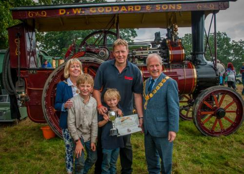 Award: Best Agricultural Steam EngineOwner: Andrew GoddardExhibit: General C R Dewet