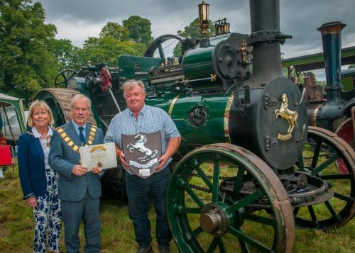 Award: Best Aveling Steam ExhibitOwner: Neil WilliamsExhibit: Valentine